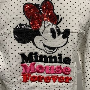 Disney Minnie Mouse denim jacket size M medium